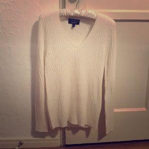 Banana Republic Cream-Colored Sweater, Size S